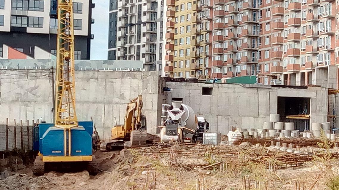 Строительство ЖК, 4, 5, 6 секции (фото 7)