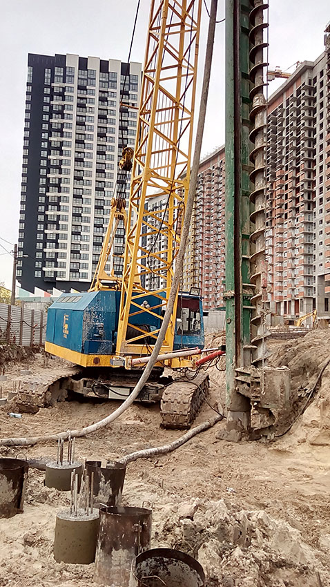 Строительство ЖК, 4, 5, 6 секции (фото 10)