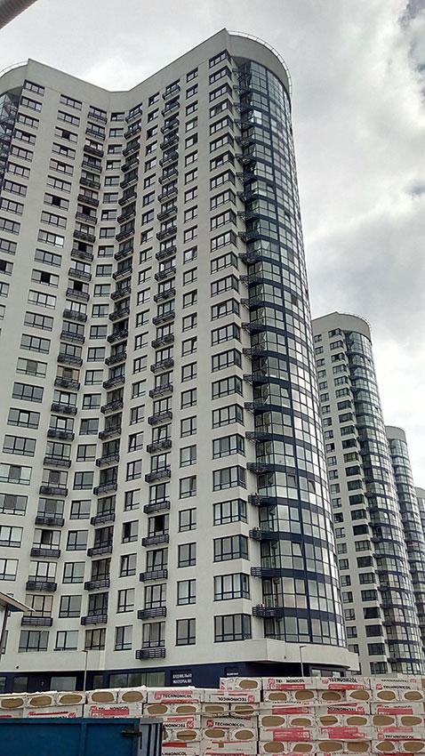 Строительство ЖК, 4, 5, 6 секции (фото 3)