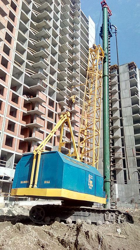 Строительство ЖК, 4, 5, 6 секции (фото 4)