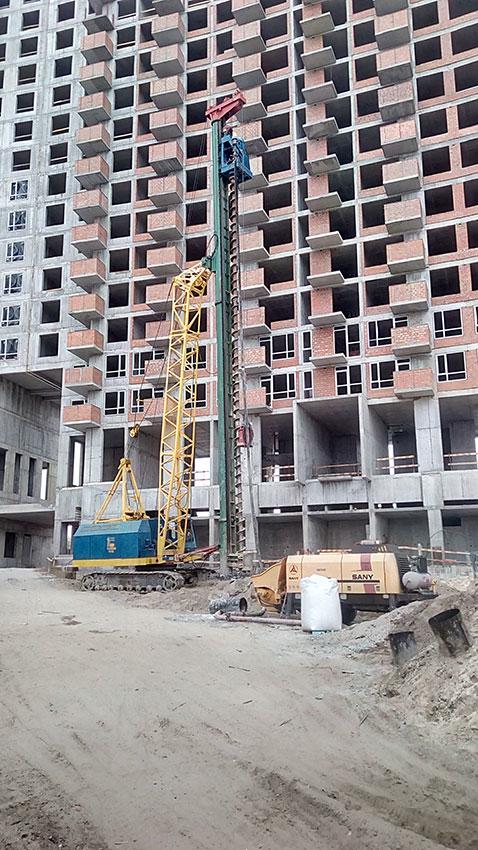 Строительство ЖК, 4, 5, 6 секции (фото 5)