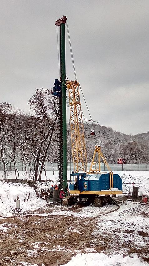 Строительство ЖК на Надднепрянском шоссе (фото 2)