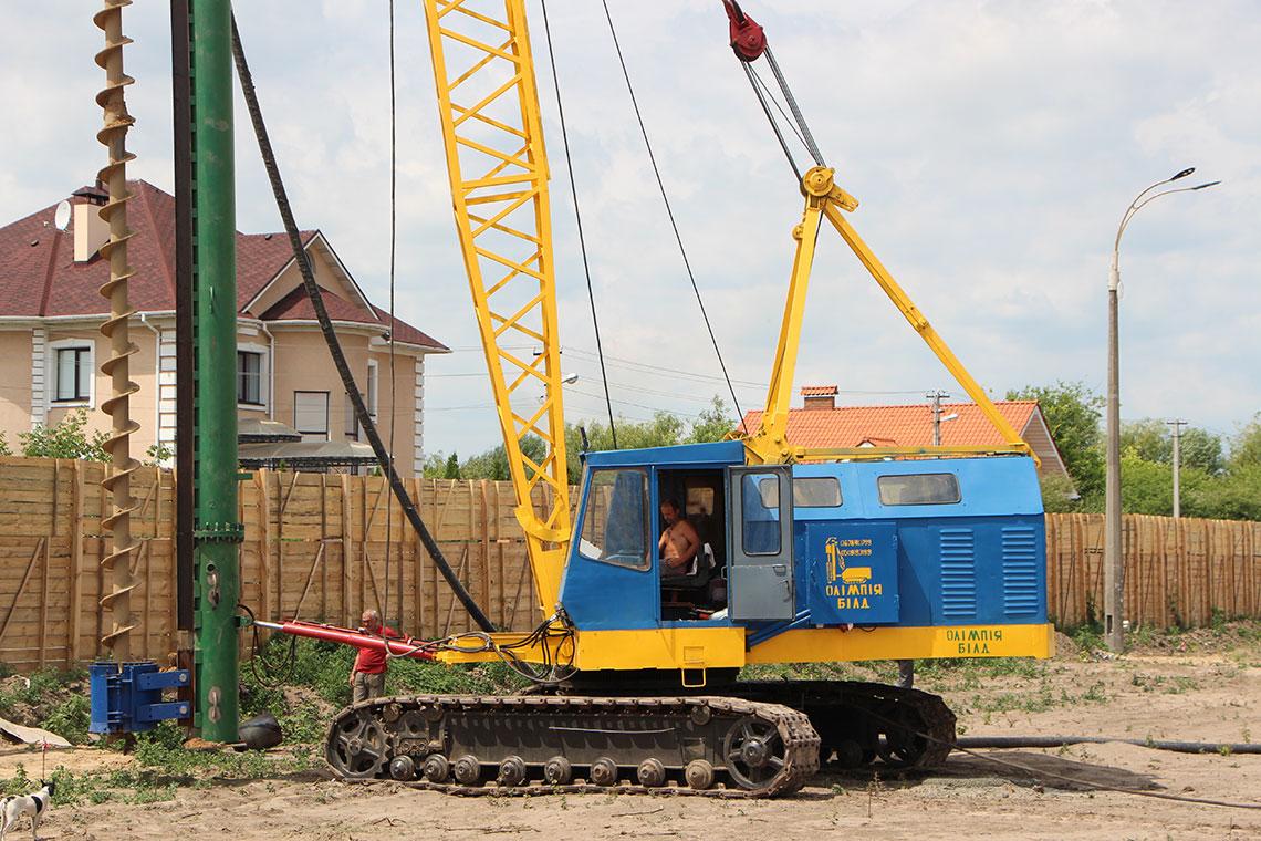 Строительство ЖК в пгт. Новоселки (фото 2)