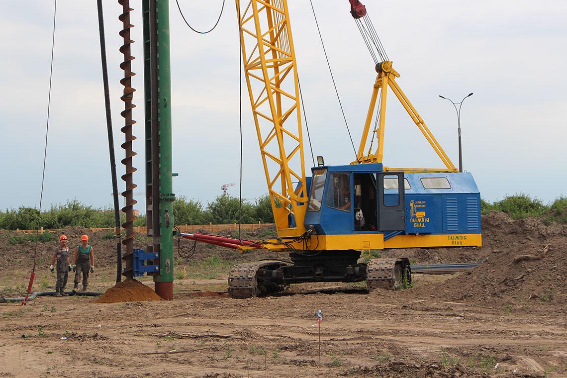 Строительство ЖК в пгт. Новоселки (фото 4)