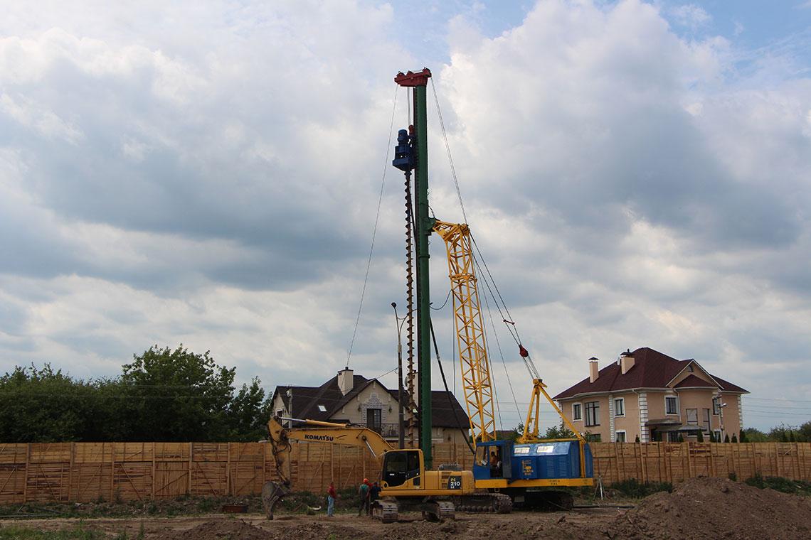 Строительство ЖК в пгт. Новоселки (фото 6)