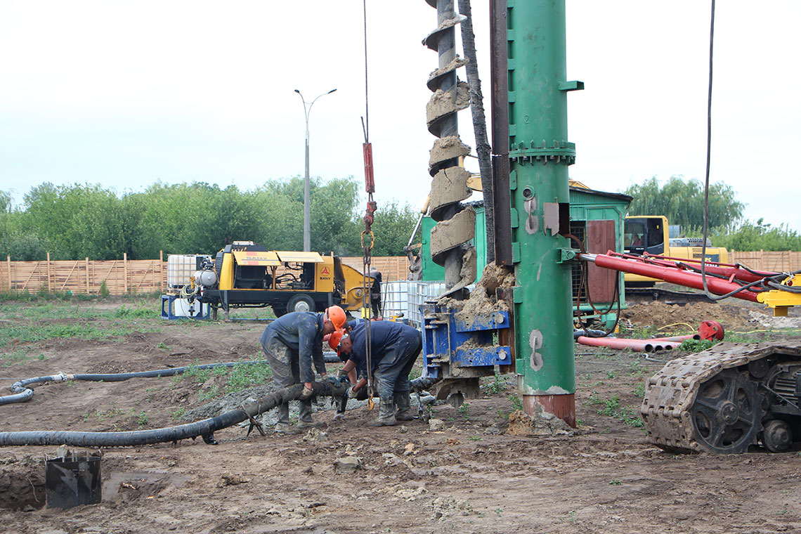 Строительство ЖК в пгт. Новоселки (фото 8)