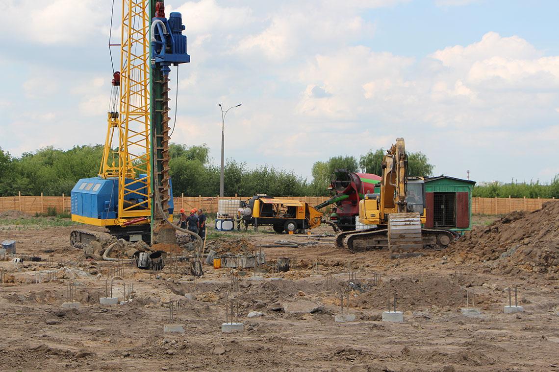 Строительство ЖК в пгт. Новоселки (фото 9)