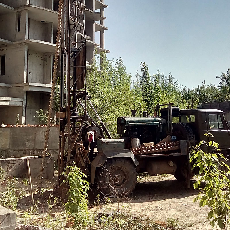Инженерно-геологические изыскания (фото)