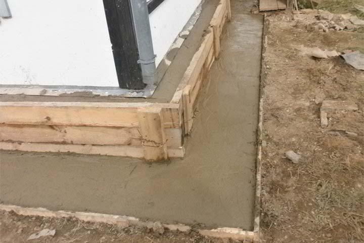 Реставрация фундамента (фото)